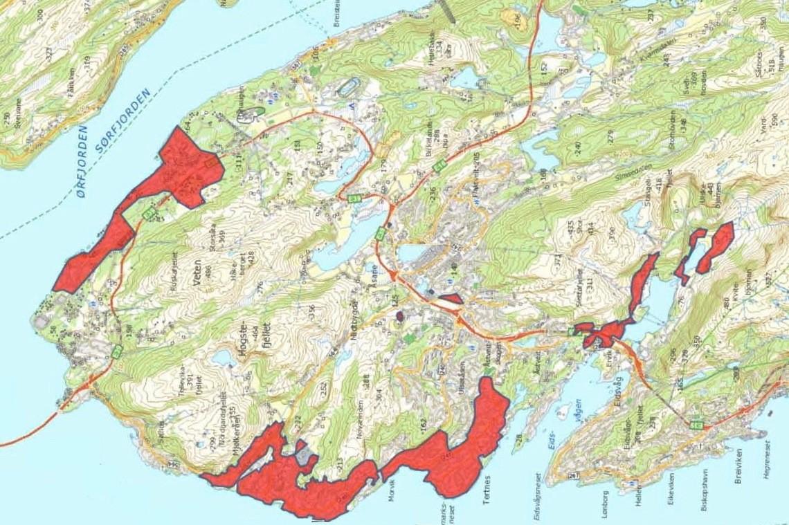 fibernett kart Fibernettet har ingen rushtidsavgift   Åsane Tidende fibernett kart