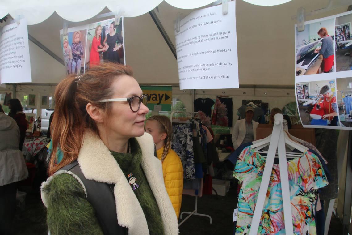 504a0f476 Selger klær - redder familiebedrift i Polen - Åsane Tidende