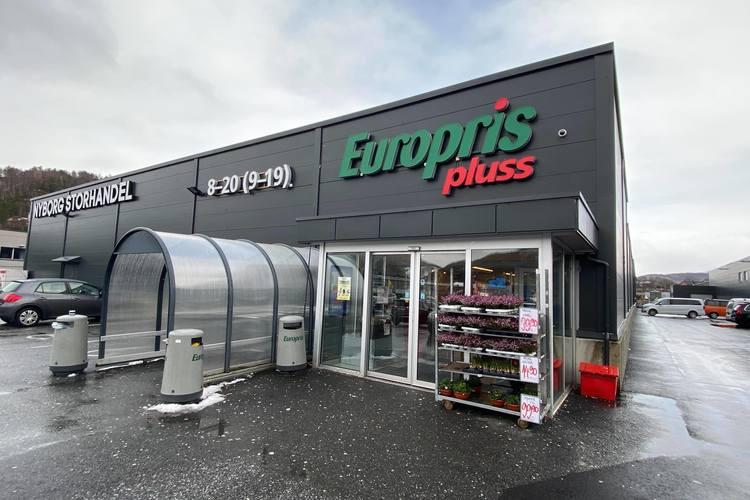 PÅGANG: – Det er stor pågang på spesielt antibac, melder Europris-sjefen. (Foto: Bergen Fot og Media)