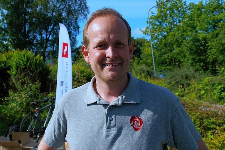 Leder i Åsane-Ap Even Sørland. (Arkivfoto: Sandor Dahl)