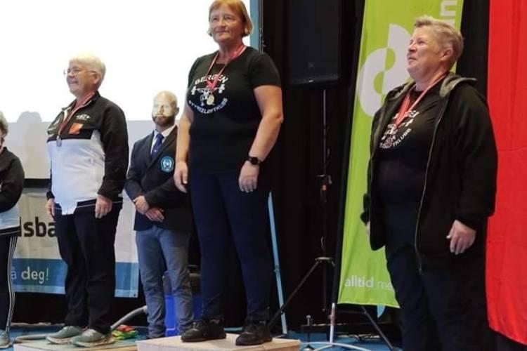 Anne Hellem ble norgesmester i klassen 60 til 69 år.